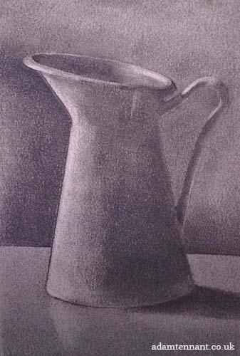 Charcoal Life Drawing 05