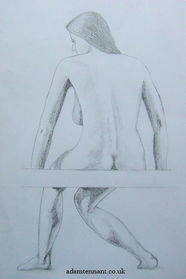 Pencil Life Drawing 01