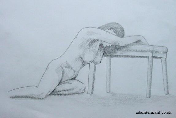 Pencil Life Drawing 02