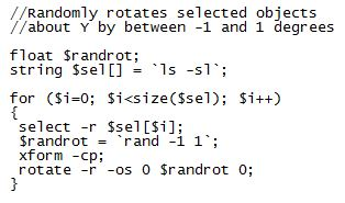 Rotation Script