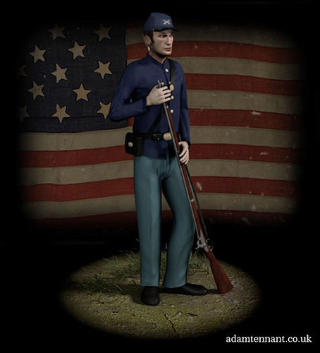 Union Soldier - ATennant