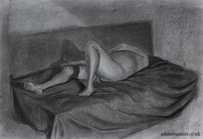 Charcoal Life Drawing 03