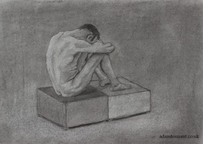 Charcoal Life Drawing 04